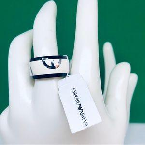 Emporio Armani Ladies Ring - size 7